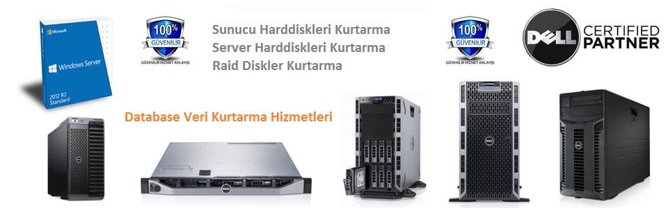 Sunucu Server Veri Kurtarma