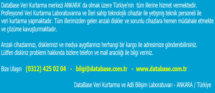 yeni - İzmir Veri Kurtarma